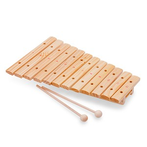 New Classic Toys - Xylophone à 12 tons - bois