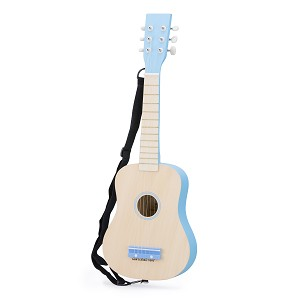 New Classic Toys - Guitare - naturelle/bleue
