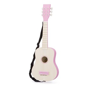 New Classic Toys - Guitare - Naturelle/Rose