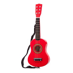 New Classic Toys - Guitare - Rouge