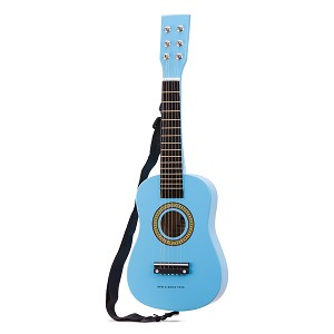 New Classic Toys - Guitare - bleue