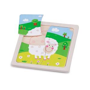 New Classic Toys - Mini Puzzle - Mouton