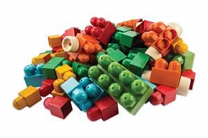 Anbac Toys - Baril de Cubes - 95 pcs.