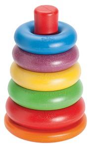 Anbac Toys - Anneaux à empiller