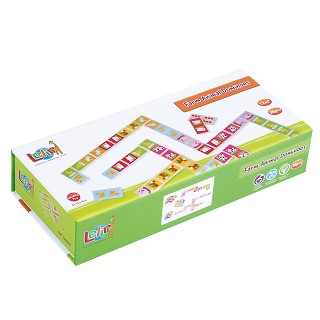 Lelin Toys - Dominos - Ferme - 28 pcs.
