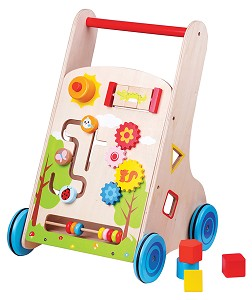 Lelin Toys - Chariot à pousser - multi activités - 7 en 1