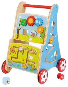 Lelin Toys - Chariot à pousser - multi activités - disponible en juin 2017