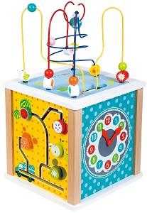 Lelin Toys - Cube d'activités - ferme- disponible en juin 2017