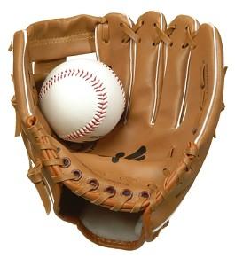 Angelsports - Gant de Baseball avec Balle