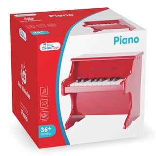 New Classic Toys - Piano Rouge - 18 touches