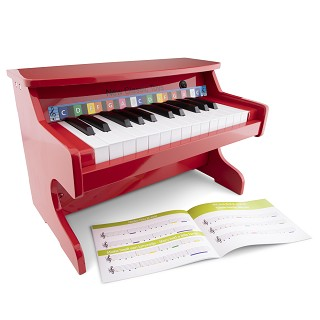New Classic Toys - E- Piano Rouge - 25 touches