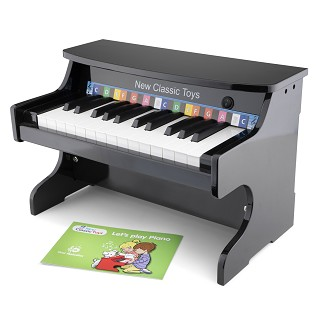 New Classic Toys - E- Piano Noir - 25 touches