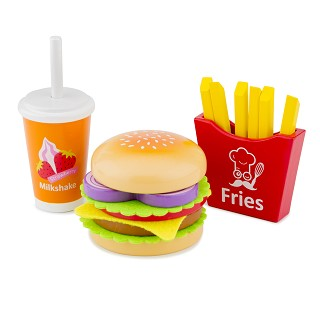 New Classic Toys - Fast food set