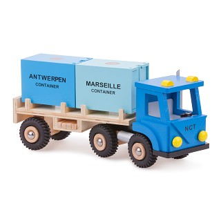 New Classic Toys - Camion avec 2 Containers