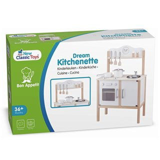 New Classic Toys - Cuisine - Modern - Blanche