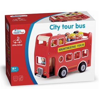 New Classic Toys - City Tour Bus avec 9 Figurines