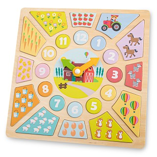 New Classic Toys - Pendule Puzzle
