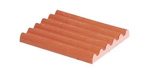 Teifoc Construction - Toiture - Rouge - 4 pièces