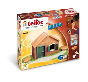 Teifoc Construction Briques - Boîte de Base Débutants