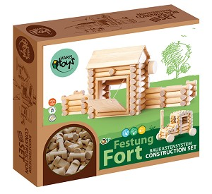 Varis Toys - Set Construction - 80 pcs - Fort