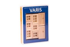 Varis Toys - Set construction - Fenêtre et Portes II - 8 pcs