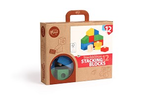 Varis Toys - Blocs à empiler - 12 pcs
