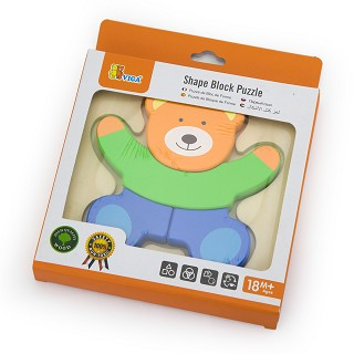 Viga Toys - Mini Puzzle Ourson
