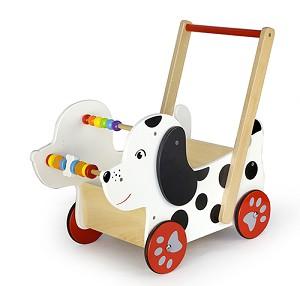 Viga Toys - Chariot à pousser - Chien