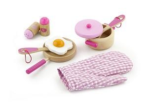 Viga Toys - Ensemble d'ustensiles de cuisine - princesse