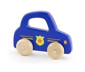 Viga Toys - Voiture de police à poignée