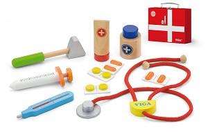 Viga Toys - Valise de docteur - 11 pcs