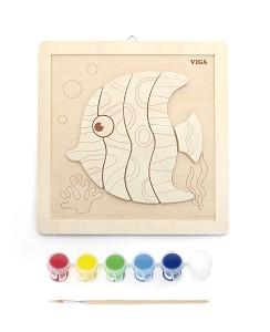 Viga Toys - Kit de peinture - poisson