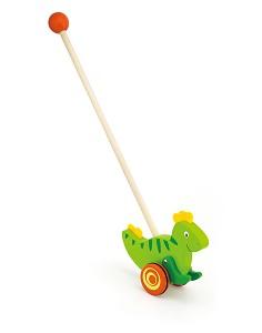 Viga Toys - Bâton à pousser - dinosaure