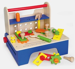Viga Toys - Etabli portable - pliable