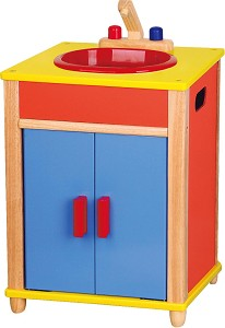 Viga Toys - Meuble de cuisine avec évier - Toy Kitchen