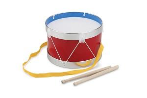 New Classic Toys - Tambour - Rouge - Ø 22 cm