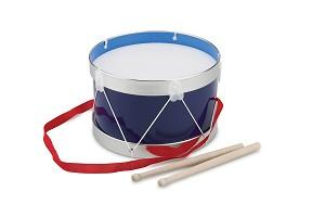 New Classic Toys - Tambour - Bleu - Ø 22 cm