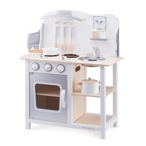New Classic Toys - Cuisine - Bon Appetit - Blanche/Argent